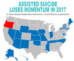 Assisted Suicide Loses Momentum in 2017