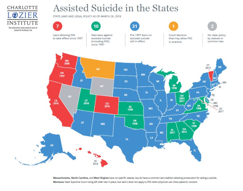 Assisted Suide - U.S. Map