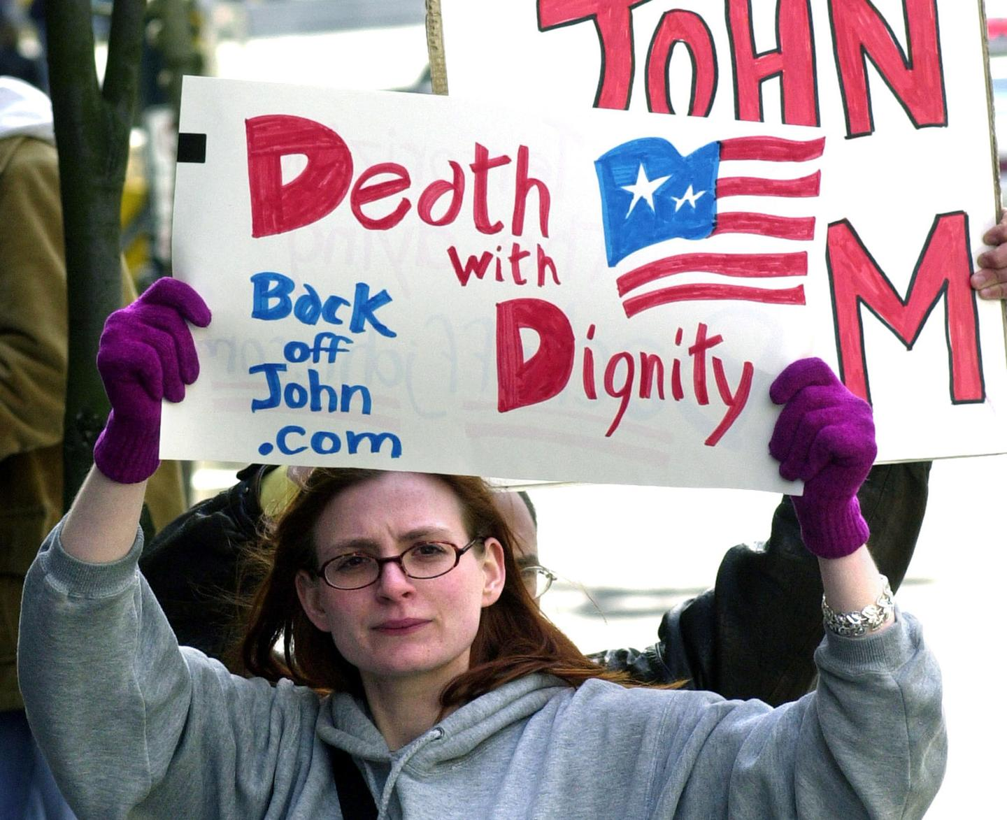 Death with Dignity supporter